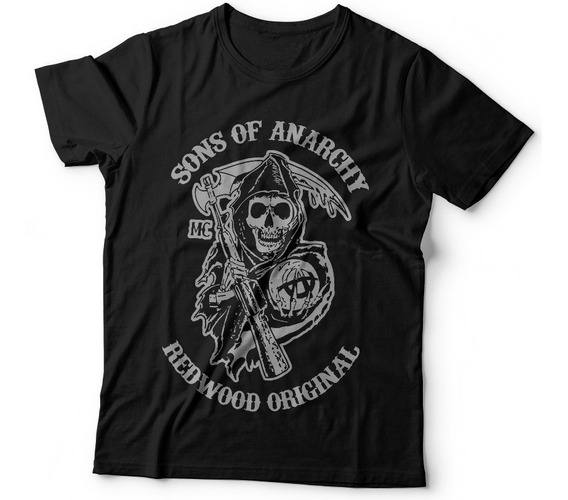 Remera Sons Of Anarchy Series Dtg Samcro Soa