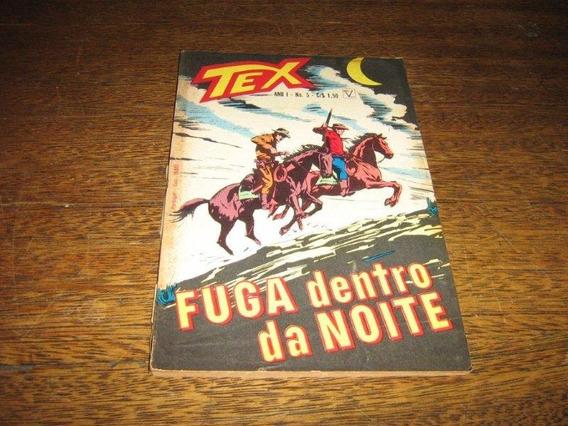 Tex 1ª Edição Nº 5 Junho 1971 Editora Vecchi Original Raro