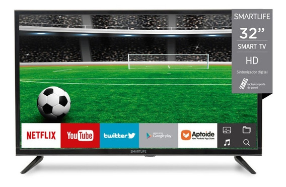 Smart Tv Led Smartlife 32 Wifi Hd Isdbt Magic Center