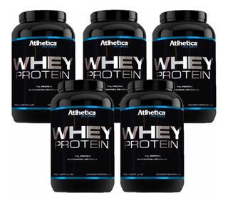 Kit 5x Whey Protein Pro Série Atlhetica