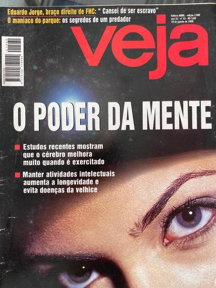 Revista Veja. Nr 1560. 19/08/1998. O Poder Da Mente.