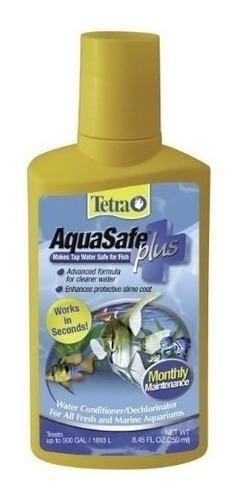 Imagen 1 de 3 de Tetra Aquasafe Tratamiento De Aguas Plus- Envío Gratis