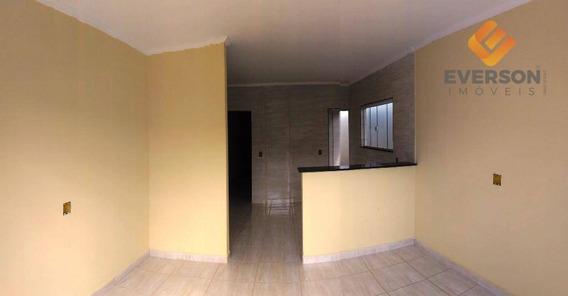 Casa Residencial À Venda, Novo Jardim Wenzel, Rio Claro. - Ca0690