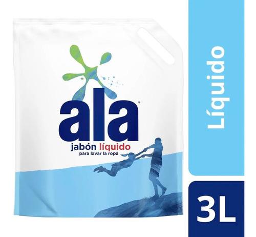 Jabon Liquido Ala Para Ropa X 3 Lt Repuesto Economico