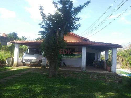 Imagem 1 de 7 de Chácara Com 2 Dormitórios À Venda, 1400 M² Por R$ 480.000 - Parque Imperial - Jacareí/sp - Ch0260
