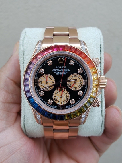 Relógio Rolex Daytona Arco Iris Premium