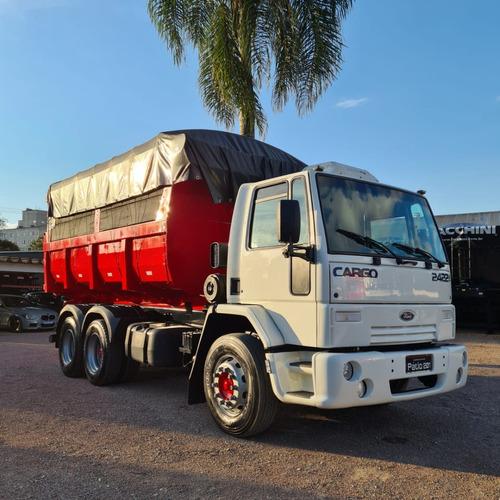 Caminhão Truck 6x2 Ford 2422 Caçamba 20m³ 2011