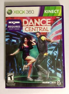 Kinect Dance Central Xbox 360 Con Portada Y Manual