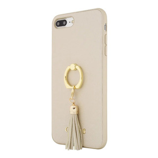 Protector iPhone 678 Xr X Xs Max Guess Case Ring Stand Gold