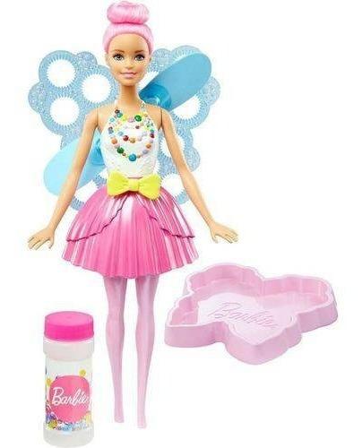 Boneca Barbie Fantasia Fada Bolhas Mágicas Dreamtopia