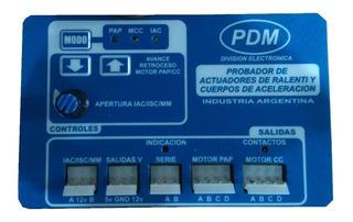 Probador Paso A Paso Valvula Iac Ralenti Mariposa Pdm + Dvd