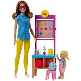 Boneca Barbie Profissões Professora Mattel Dhb63