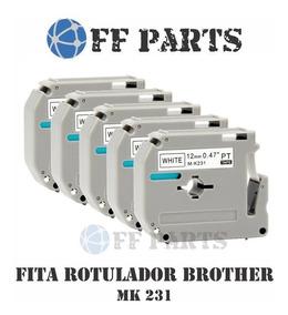 15x Fita Compativel Mk-231 M-k231 231 M231 Rotulador Brother