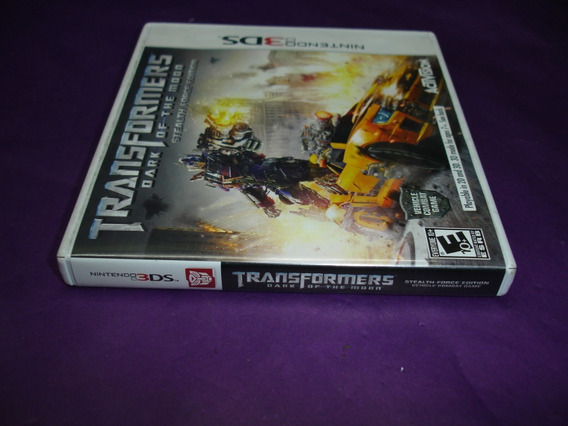 Transformers Dark Of The Moon Usada Original Nintendo 3ds.