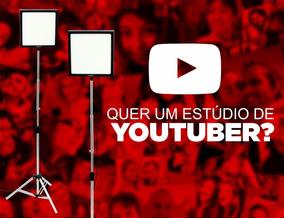 Softbox Luz Contínua Youtuber + Barato