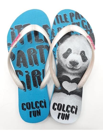 Chinelo Feminino Colcci Fun Original Promoção Panda