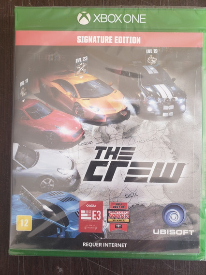 The Crew Signature Edition Xbox One Lacrado Portugues