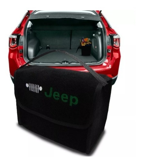 Bolsa Automotiva Porta Malas Jeep Multiuso Carpete