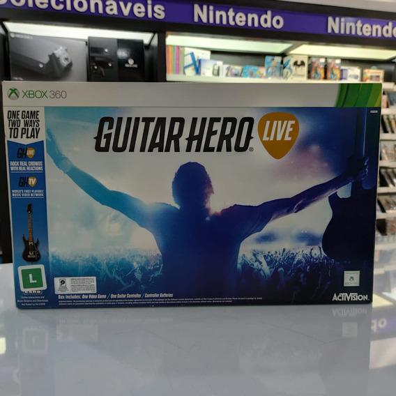 Guitar Hero Live Bundle Xbox 360 Completo Seminovo