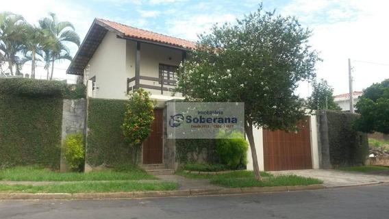 Casa Com 3 Dormitórios Para Alugar - Parque São Quirino - Campinas/sp - Ca3561