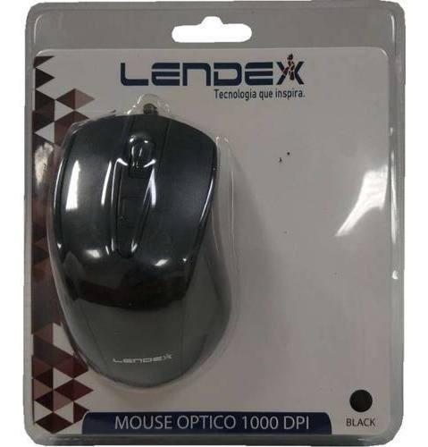 Mouse Optico Universal 1000 Dpi C/ Cabo Usb 1,2m Computador
