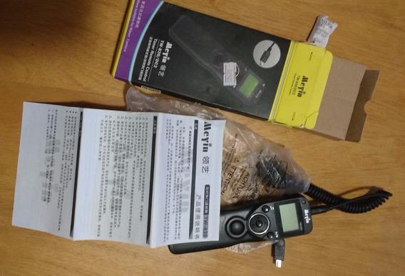 Cabo Disparador Timer Remoto Time Meyin P/ Nikon