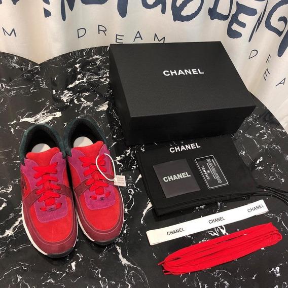 Tênis Chanel Feminino Lançamento 2019 - Cc001