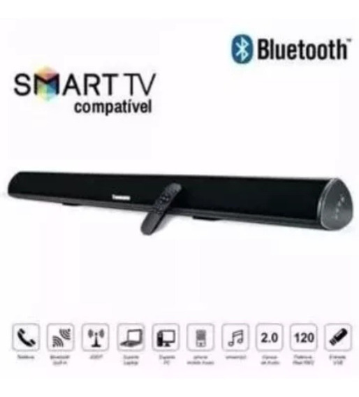 Caixa De Som Sound Bar Bluetooth 120w