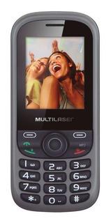 Multilaser Up Dual SIM 32 MB Preto/Cinza 32 MB RAM
