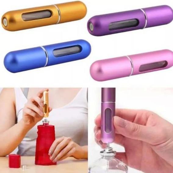 Mini Perfumero Recargable 5ml Con Atomizador Metalico
