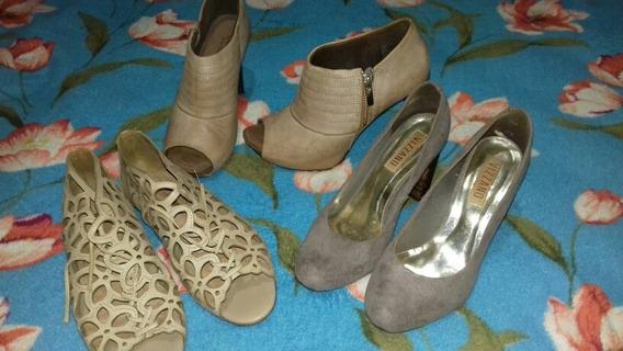 Calçados Semi Novos, Usado Apenas Duaa Vezes, Tamanho 37.
