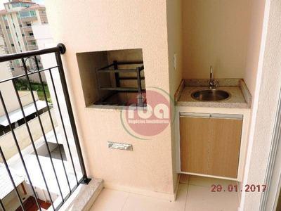 Apartamento Com 2 Dormitórios Para Alugar, 60 M² Por R$ 1.450/mês - Parque Campolim - Sorocaba/sp - Ap0790