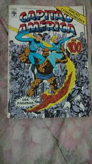 Hq Capitão América (edição Especial) Número 100