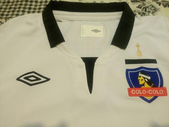 Camiseta Oficial Umbro Colo Colo Chile Edición Libertadores