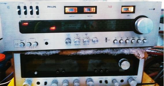 Receiver Philips 748/akai/cce/marantz/pionner/sansui/techini