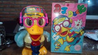 Juguete Pato Dj Duck,a Pilas,sonidos,luces , Movimientos1989