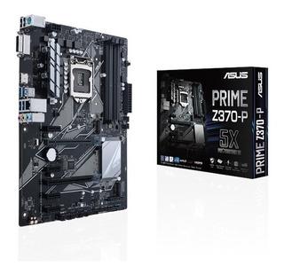 Mainboard Gamer Asus Prime Z370-p 8va Rgb M.2 Usado