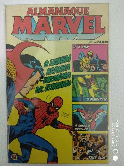 Almanaque Marvel Editora Rge Coleção Completa