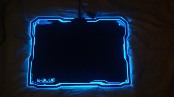 Mousepad Rgb E-blue Emp013 - Preto + Mouse Gamer Gm-220 3000