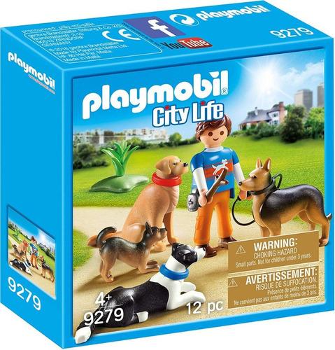 Playmobil City Life 9279 - Adiestrador De Perros