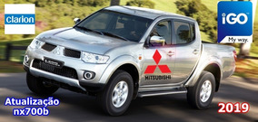 Atualização Gps Mitsubishi L200 Triton Nx700b Clarion 2019