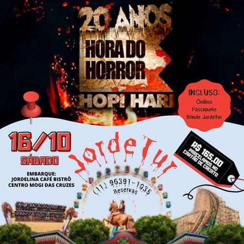 Imagem 1 de 3 de Excursão Hopi Hari - Hora Do Horror