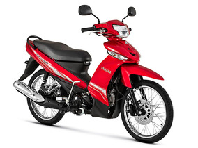 Moto Yamaha T110c 100cc Año 2018 Negro/azul/rojo
