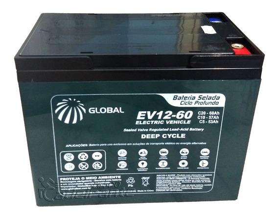 Bateria Ev12v-60ah Cadeira De Rodas Motorizada Ottobock (un)
