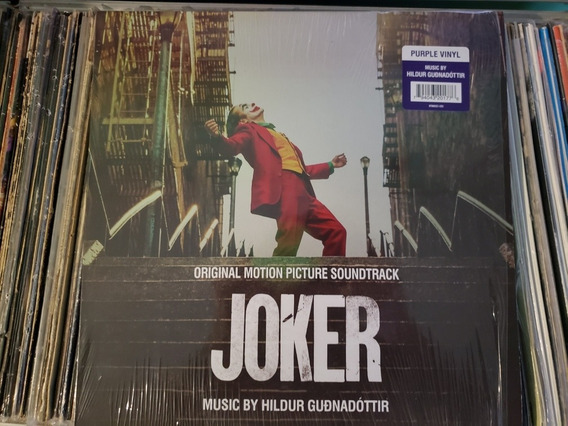 Disco De Vinilo Joker Lp 2019 Nuevo
