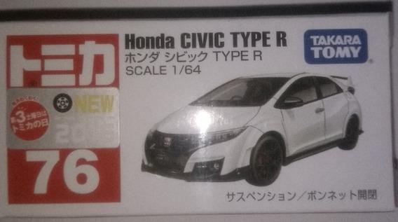 TAKARA TOMY TOMICA 58 Honda CIVIC TYPE R Display Mini Car