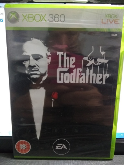 The Godfather Jogo Original Lacrado Europeu Pal P/ Xbox 360