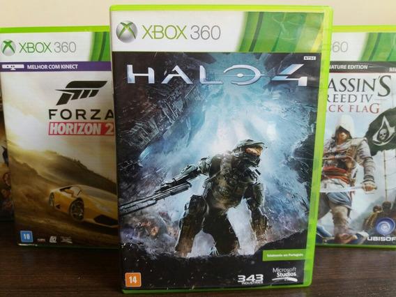 Jogo Halo 4 Xbox 360 Original Mídia Física