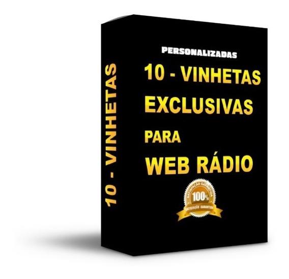 10 Vinhetas Web Rádio Fm Comunitária Site Live Streaming