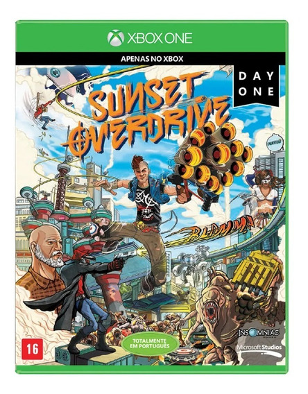 Game Xbox One Sunset Overdrive Day One Edition Pix90